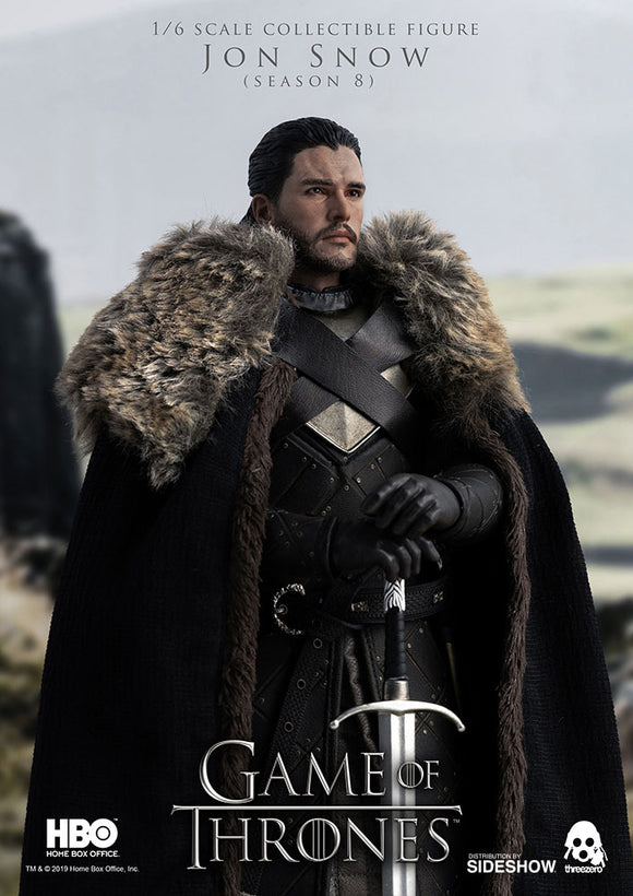Threezero Game of Thrones (Season 8) Jon Snow 1/6 Scale 12