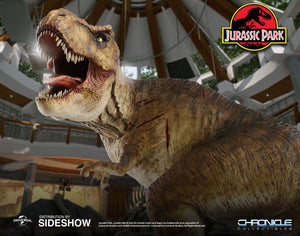 Chronicle Collectibles Jurassic Park Collectibles Rotunda Rex T-Rex Statue