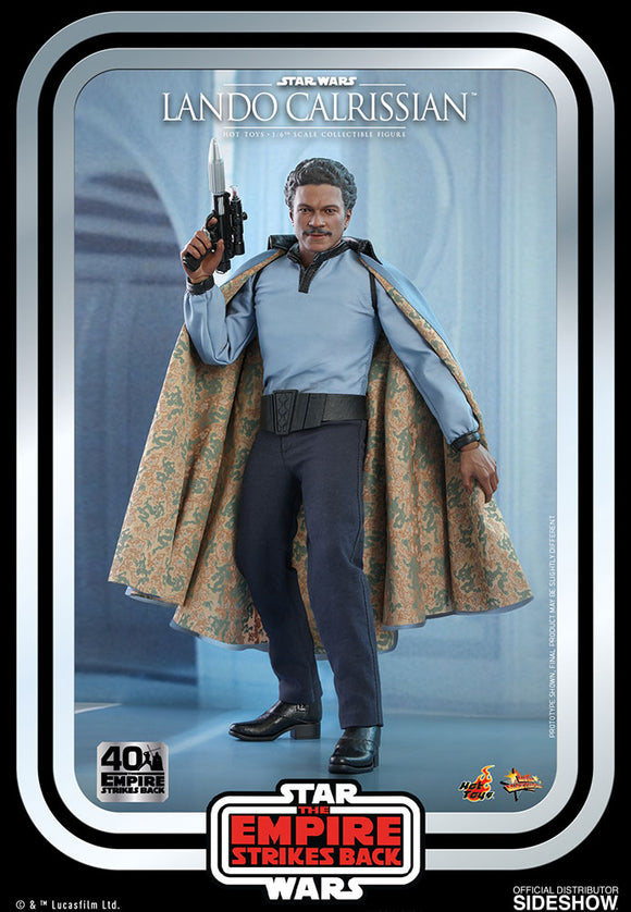 Hot Toys Star Wars Episode V The Empire Strikes Back Lando Calrissian 1/6 Scale 12