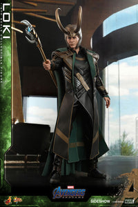 Hot Toys Marvel Comics Avengers Endgame Loki 1/6 Scale Collectible Figure