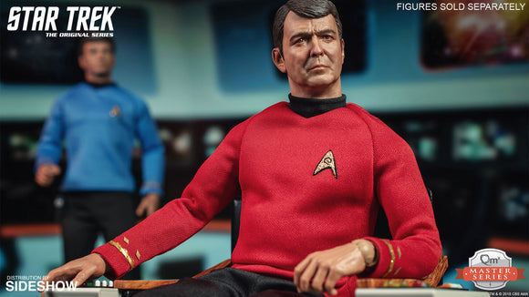 Quantum Mechanix Star Trek The Original Series Lt Commander Montgomery Scott Scotty 1/6 Scale 12