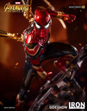 Iron Studios Marvel The Avengers Infinity War Iron Spider-Man 1/4 Quarter Scale Legacy Replica Statue