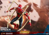 "Hot Toys Marvel Avengers Infinity War Spider-Man Iron Spider Suit 1/6 Scale 12"" Action Figure"