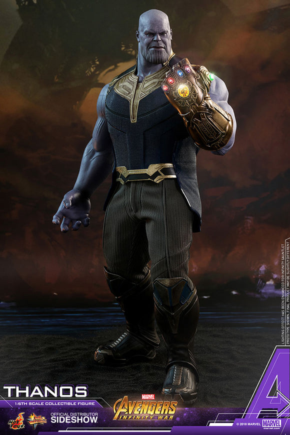 Hot Toys Marvel Avengers Infinity War Thanos 1/6 Scale Figure
