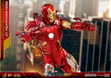 Hot Toys Marvel The Avengers Iron Man Mark VII Diecast 1/6 Scale Action Figure