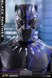 "Hot Toys Marvel Black Panther Black Panther 1/6 Scale 12"" Figure"