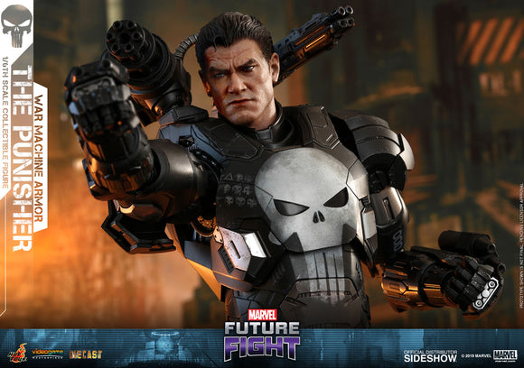 Hot Toys Marvel Future Fight The Punisher (War Machine Armor) Diecast 1/6 Scale 12