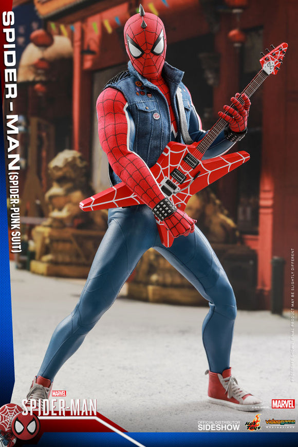 Hot Toys Marvel's Spider-Man VGM32 Spider-Man (Spider-Punk Suit) 1/6 Scale 12