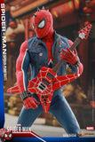 "Hot Toys Marvel's Spider-Man VGM32 Spider-Man (Spider-Punk Suit) 1/6 Scale 12"" Action Figure"
