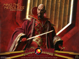 BIG Chief Studios Flash Gordon 40th Anniversary Ming the Merciless - Emperor of Mongo 1/6 Scale Collectible Figure