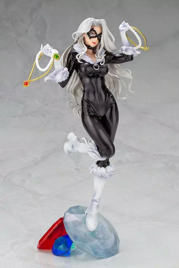 Kotobukiya Marvel Comics Bishoujo Black Cat Steals Your Heart 1/7 Scale Statue