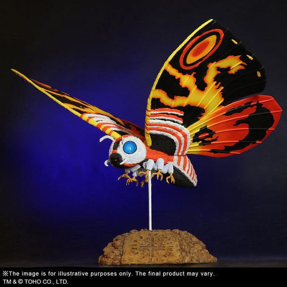X-Plus Godzilla vs. Mothra Toho Daikaiju Series Mothra (1992)
