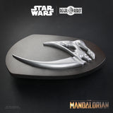 Regal Robot Star Wars The Mandalorian Mudhorn Signet Plaque