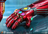 Hot Toys Marvel Comics Avengers Endgame Iron Man Nano Gauntlet Life Size Movie Prop Replica