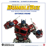 ThreeA Toys Transformers Bumblebee Movie Optimus Prime DLX Scale - Die-Cast Metal Collectible Figure