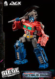 Threezero Transformers War for Cybertron Trilogy Optimus Prime DLX Collectible Figure