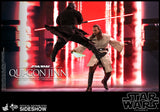 "Hot Toys Star Wars Episode I The Phantom Menac Qui-Gon Jinn 1/6 Scale 12"" Collectible Figure"