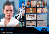 Hot Toys Star Wars Episode IX The Rise of Skywalker Rey & D-O 1/6 Scale Collectible Figure Set