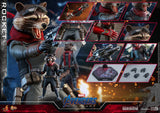 Hot Toys Marvel Comics Avengers Endgame Rocket Raccoon 1/6 Scale Collectible Figure