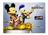 Disney Kingdom Hearts Mickey Mouse Donald Duck Gallery Figure Statue – Exclusive