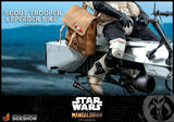 Hot Toys Star Wars The Mandalorian - Television Masterpiece Series Scout Trooper and Speeder Bike 1/6 Scale Collectible Figure Set