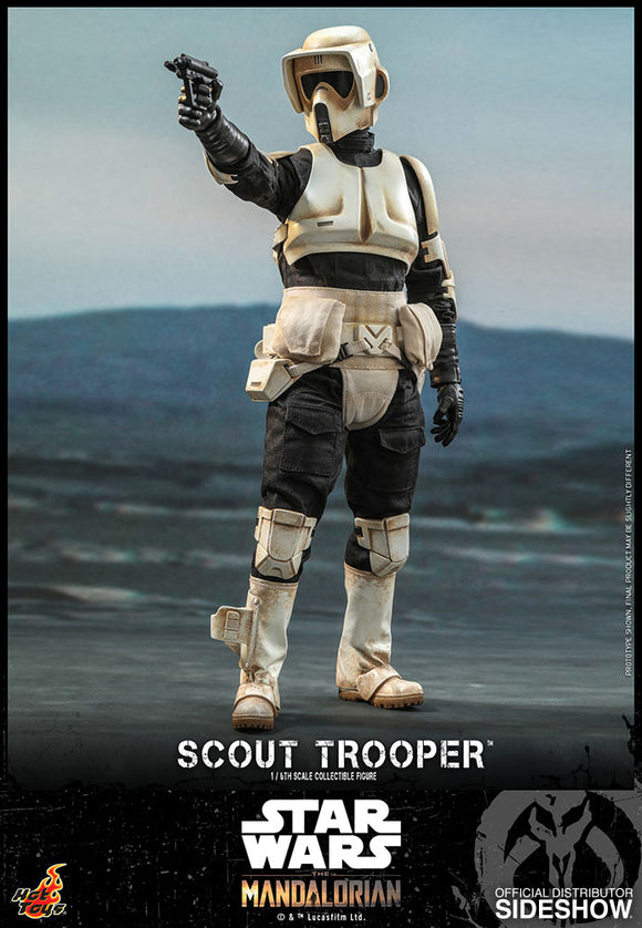 Hot Toys Star Wars The Mandalorian - Television Masterpiece Series Scout Trooper 1/6 Scale Collectible Figure