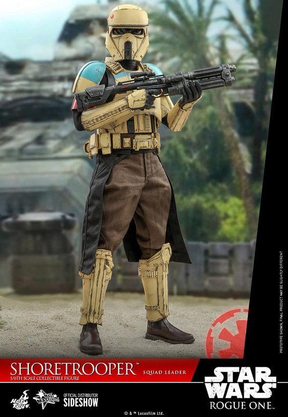 Hot Toys Star Wars Rogue One: A Star Wars Story Shoretrooper Squad Leader 1/6 Scale 12