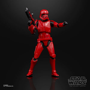 "Hasbro Star Wars The Black Series Sith Trooper Toy 6"" Scale The Rise of Skywalker Collectible Action Figure"