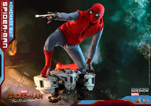 Hot Toys Marvel Comics Spider-Man Far From Home Spider-Man (Homemade Suit) 1/6 Scale Figure