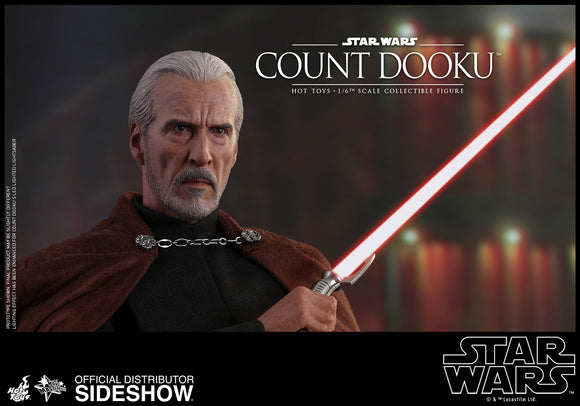 Hot Toys Star Wars Episode II Attack of the Clones Count Dooku 1/6 Scale Figure