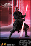 Hot Toys Star Wars Episode I The Phantom Menace Darth Maul with Sith Speeder DX 1/6 Scale Figure Set