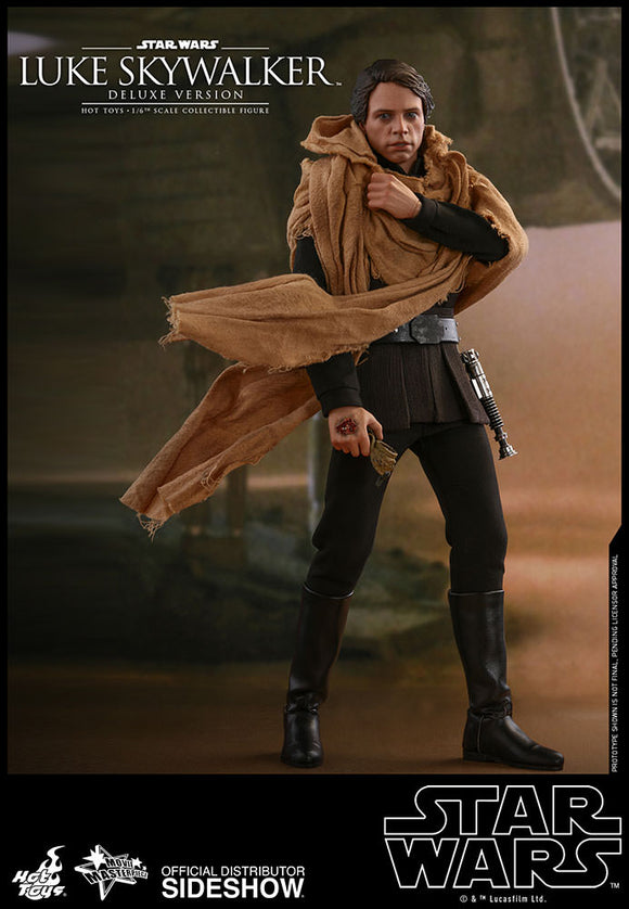 Hot Toys Star Wars Episode VI Return of the Jedi Luke Skywalker (Deluxe Version) 1/6 Scale 12