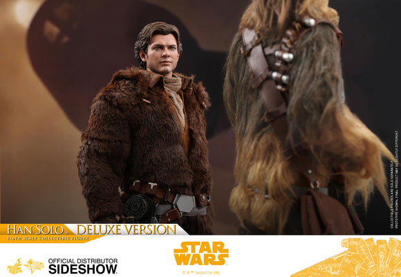 Hot Toys Solo: A Star Wars Story Young Han Solo (Deluxe Verion) 1/6 Scale 12