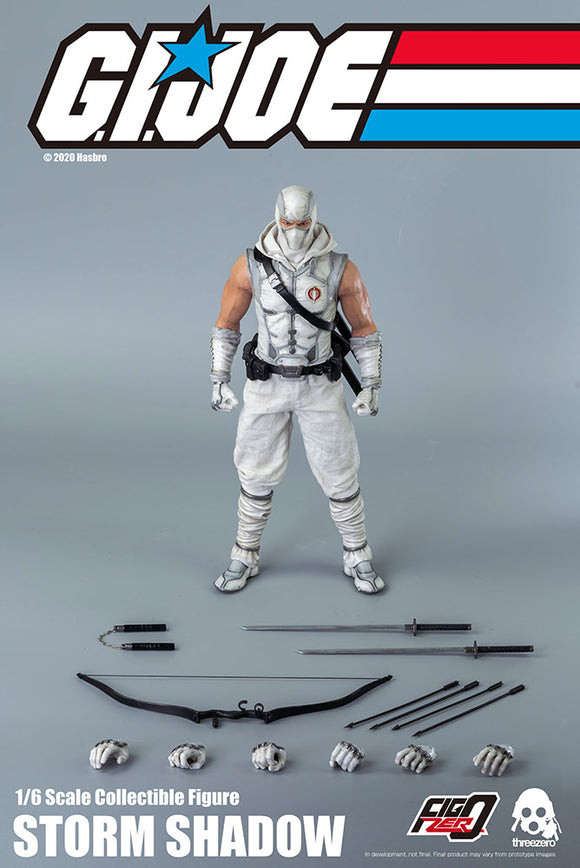 Threezero G.I. Joe Storm Shadow 1/6 Scale 12