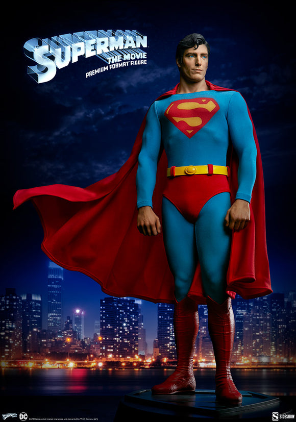 Sideshow Superman: The Movie Superman Christopher Reeve Premium Format Figure Statue