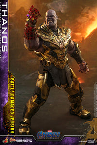 Hot Toys Marvel Comics Avengers Endgame Thanos (Battle Damaged Version) 1/6 Scale Collectible Figure