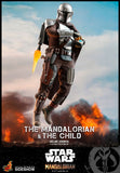 Hot Toys Star Wars The Mandalorian - Television Masterpiece Series The Mandalorian and The Child Deluxe 1/6 Scale Collectible Figure Set