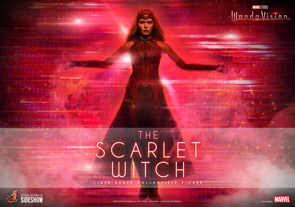 Hot Toys Marvel WandaVision Television Masterpiece Series The Scarlet Witch 1/6 Scale Collectible Figure