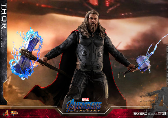Hot Toys Marvel Comics Avengers Endgame Thor 1/6 Scale Collectible Figure