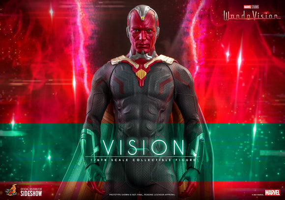 Hot Toys Marvel WandaVision Television Masterpiece Series Vision 1/6 Scale Collectible Figure
