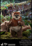 Hot Toys Star Wars Episode VI Return of The Jedi Ewok Wicket 1/6 Scale Figure