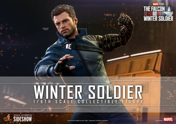Hot Toys Marvel The Falcon and the Winter Soldier Television Masterpiece Series The Winter Soldier 1/6 Scale Collectible Figure