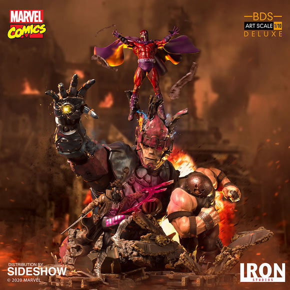 Iron Studios X-Men Vs Sentinel #2 Deluxe Battle Diorama Series Art Scale 1/10 Statue