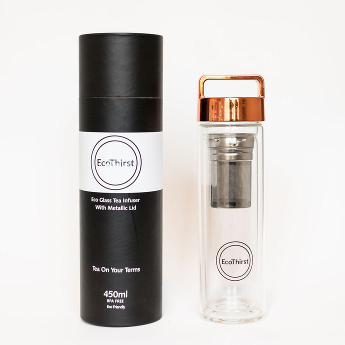 Rose Gold Metallic 450ml Bottle
