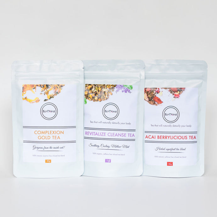 EcoThirst 3-Pack Tea Combo - Back in stock!