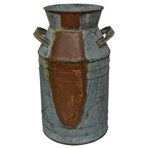 Galvanized Milk Can - 7""