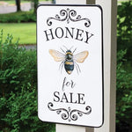 Honey For Sale Metal Wall Sign