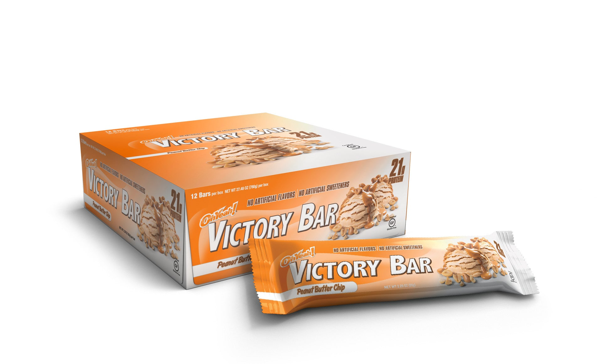 The OhYeah! Victory Bars come in Peanut Butter Chip and many other ...