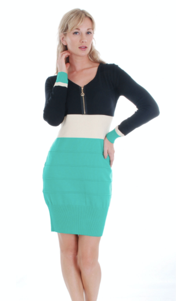 SWEATER DRESS 1112D - FTX Clothing