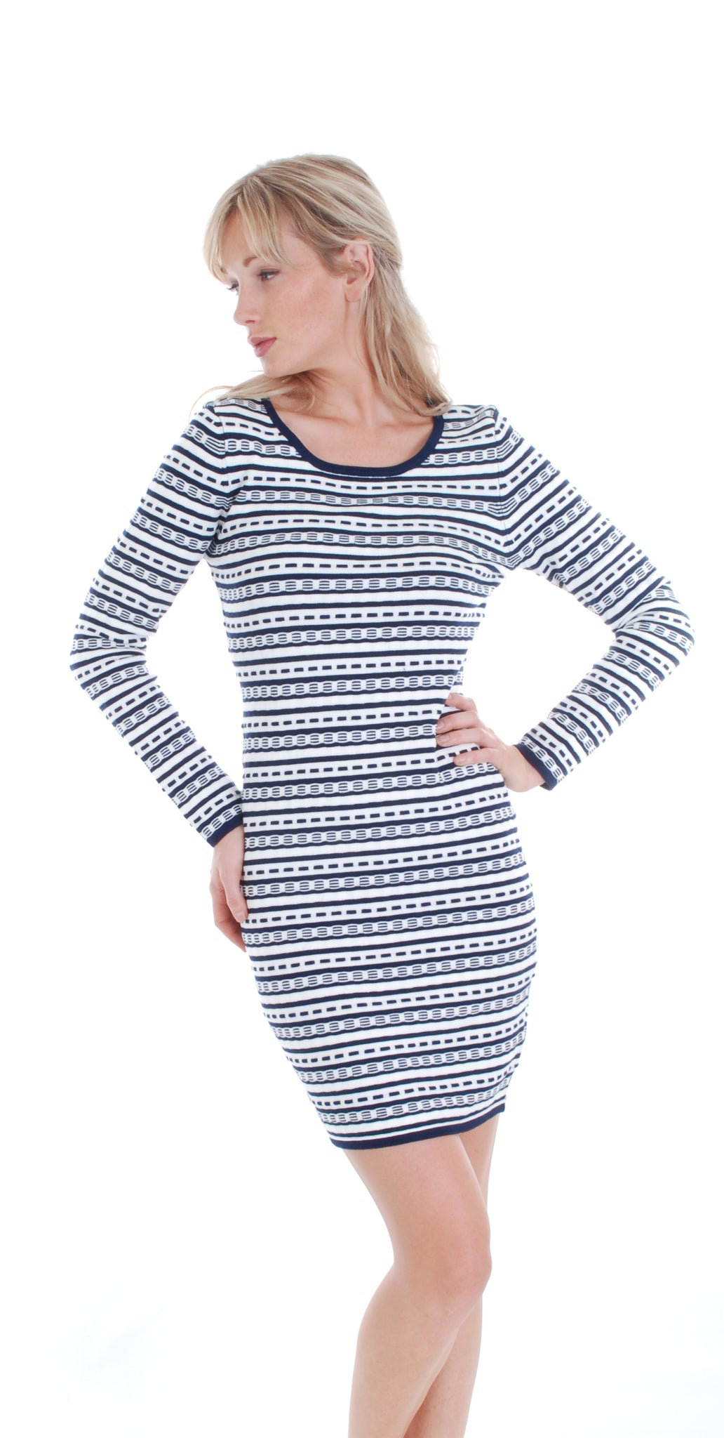 SWEATER DRESS 1706 - FTX Clothing